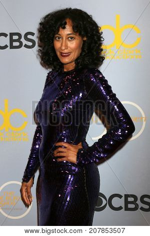 LOS ANGELES - OCT 4:  Tracee Ellis Ross_ at the Carol Burnett 50th Anniversary Special Arrivals at the CBS Television City on October 4, 2017 in Los Angeles, CA