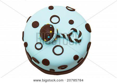 Baby shower cake