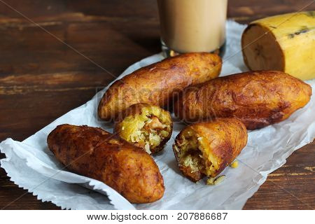 poster of Unnakaya / Plantain fritters with coconut filling - Ramadan food of Kerala Malabar