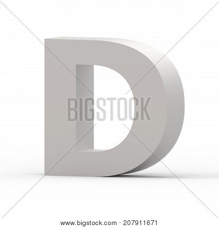 Matte Grey Font D