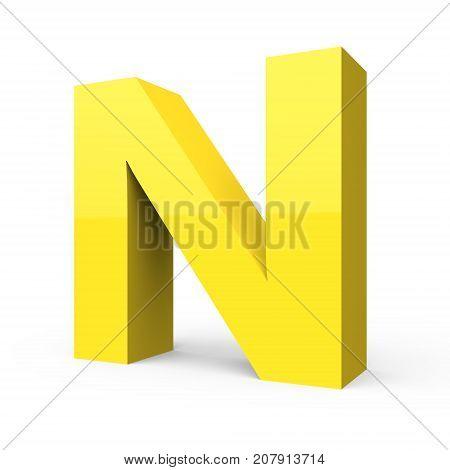 Matte Light Yellow Font N