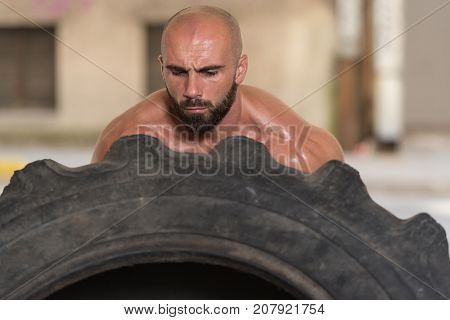 Tire Workout Exercise