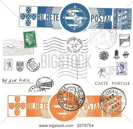 Vintage Postage Symbols