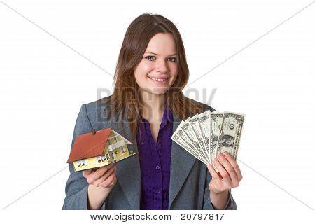 Female Real Estate Agent