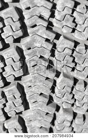 background of the wheel tread . Photo of abstract background
