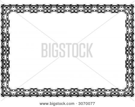 Patterned Frame 3-1