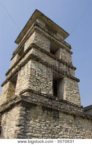 Tower Detail Palenque