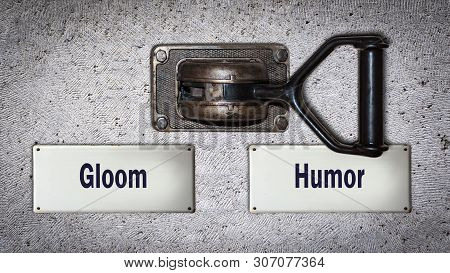 Wall Switch The Direction Way To Humor Versus Gloom