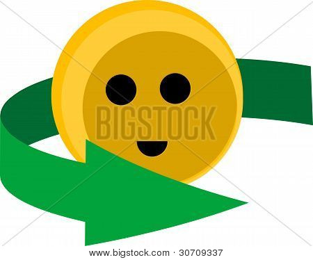Cute Recycling Smiley