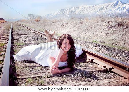 Casual bride