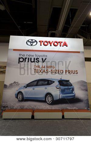 Toyota Prius Anzeige