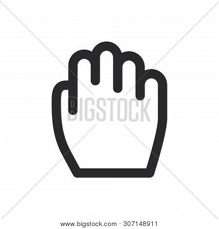 Drag Icon Isolated On White Background. Drag Icon In Trendy Design Style For Web Site And Mobile App