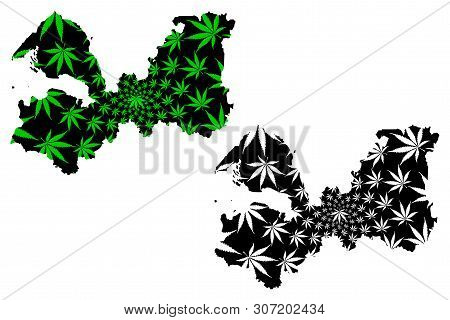 Leningrad Oblast (russia, Subjects Of The Russian Federation, Oblasts Of Russia) Map Is Designed Can
