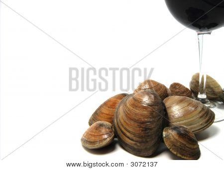 Red Wine And Shellfish