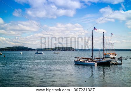 A Beautifully Private Owned Sailboat In Bar Harbor, Maine