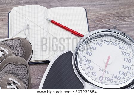 Concept Photo For Protocol Weight Loss With Support By Sport