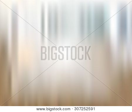 Beige Transparent Glowing Blur Background. Vector Modern Background For Posters, Brochures, Sites, W