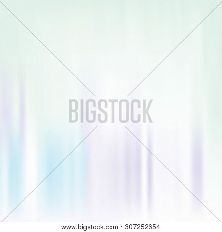 Pale Turquoise Purple Blurred Background. Vector Modern Background For Posters, Brochures, Sites, We