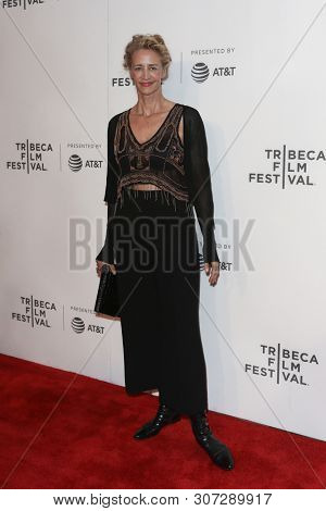 NEW YORK-APR 26: Actress Janet McTeer attends 'The Exception' screening during the 2017 TriBeCa Film Festival at BMCC Tribeca PAC on April 26, 2017 in New York City.