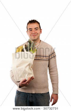 Male Grocery Shopper