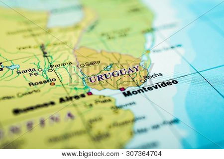 Uruguay On The Map, Detailed Atlases For Travelers