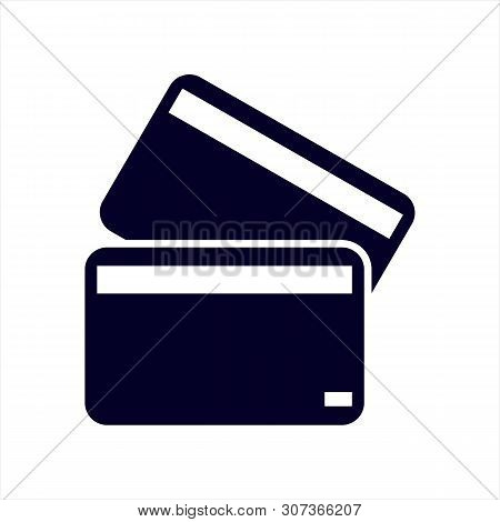 Credit Card Front And Back View Icon, Credit Card Front And Back View Icon Eps10, Credit Card Front