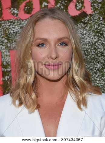 LOS ANGELES - JUN 11:  Annie Starke arrives for the InStyle Max Mara Women In Film Celebration on June 11, 2019 in Hollywood, CA