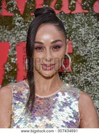 LOS ANGELES - JUN 11:  Cara Santana arrives for the InStyle Max Mara Women In Film Celebration on June 11, 2019 in Hollywood, CA