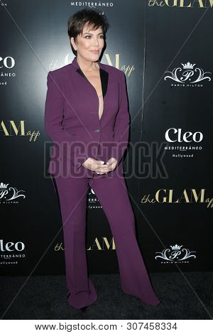 LOS ANGELES - JUN 19:  Kris Jenner at the The Glam App Celebration Event at the Cleo on June 19, 2019 in Los Angeles, CA