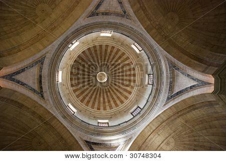 Ceiling of national pantheon, Lisbon