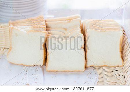 Sliced Whole Wheat Bread Breakfast