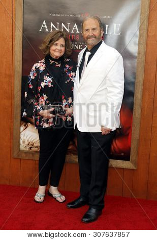 Judy Spera and Tony Spera at the Los Angeles premiere of 'Annabelle Comes Home' held at the Regency Village Theatre in Westwood, USA on June 20, 2019.