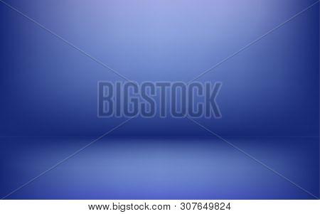Simple Blue Studio Vector Photo Free Trial Bigstock