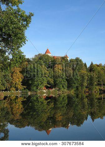 State Castle Konopiste In Autumn, Czech Republic