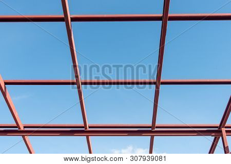 Roof Structure With Steel For Build A House