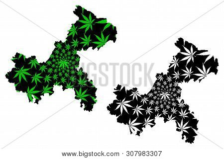 Chongqing (administrative Divisions Of China, China, People's Republic Of China, Prc) Map Is Designe