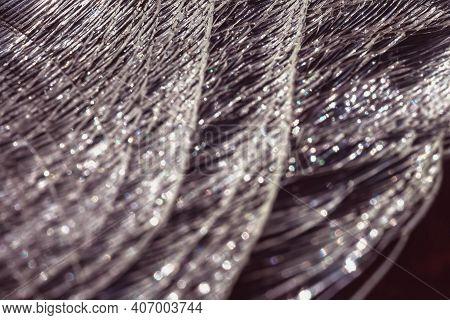 Defocused Background Macro Shot Of Broken Glass.defocused Background Macro Shot Of Broken Glass