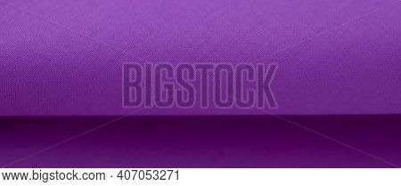 Purple Fabric Texture And Background. Abstract For Designers. Purple Texture. Purple.