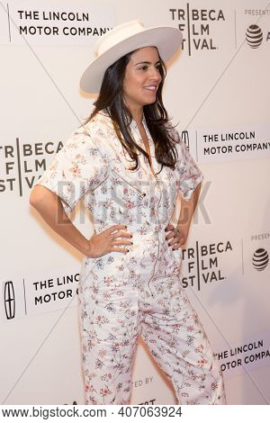 Olga Segura attends 'The Dinner' premiere during the 2017 Tribeca Film Festival at BMCC Tribeca Performing Arts Center on April 24, 2017 in New York City.