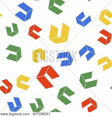 Color Cryptocurrency Coin Neo Icon Isolated Seamless Pattern On White Background. Physical Bit Coin.