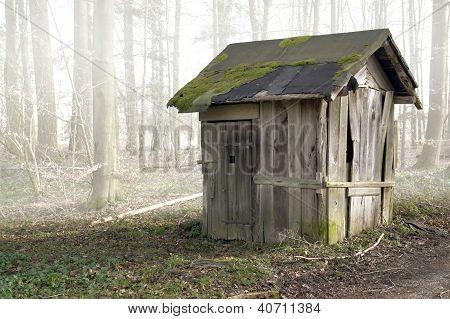 Old Wooden Shack