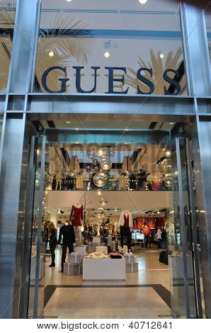 Guess store at Rodeo Drive in Beverly Hills, California