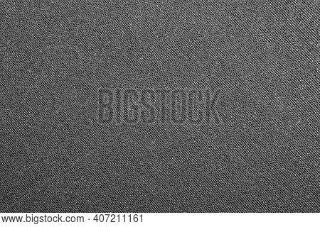 Dark Gray Denim Background.the Texture Of Black Fluted Denim.background Of Black Jeans.