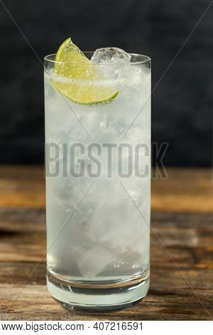 Refreshing Cold Tequila Ranch Water Cocktail