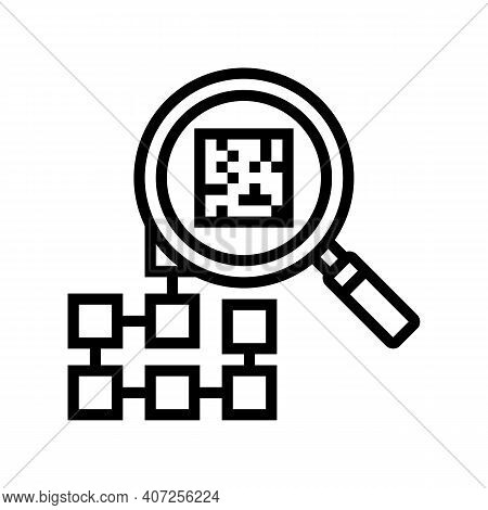Research Neural Network Line Icon Vector. Research Neural Network Sign. Isolated Contour Symbol Blac
