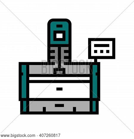 Honing Machine Color Icon Vector. Honing Machine Sign. Isolated Symbol Illustration