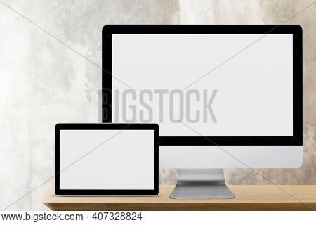 Multi devices mockup technology and electronics