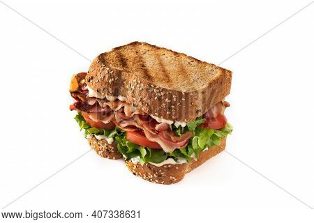 Blt Sandwich And Fries