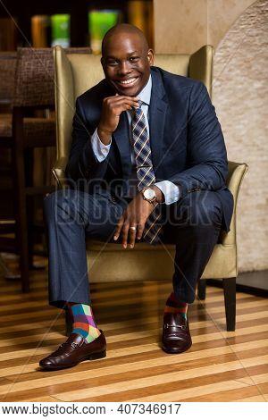 Black African Businessman, Public Speaker And Entrepreneur Vusi Thembekwayo