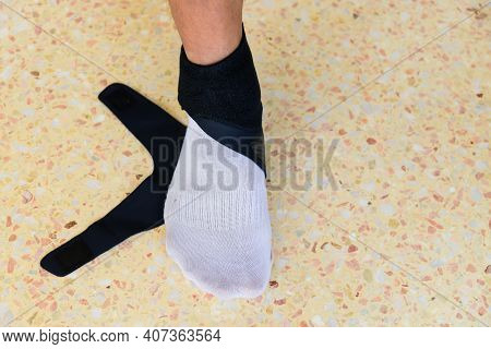 The Man Were Ankle Support Lightweight And Press Ankle Protection Anti-sprain Running Breathable